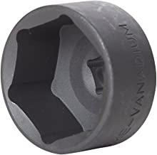 Steelman 32mm Low Profile Oil Filter Wrench Socket for GM, Saturn, Saab, Chevrolet, and Others, 3/8-Inch Drive
