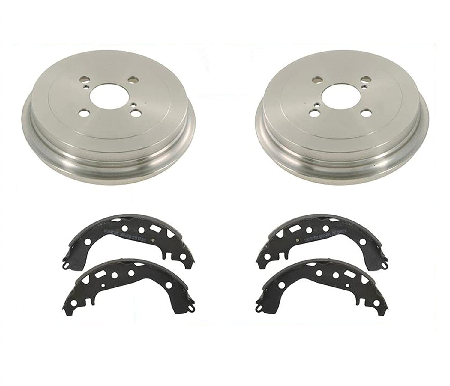 Rear Drums and Brake Shoes 3pc 2006-2013 Yaris Kit for Ranking TOP17 Toyota Nashville-Davidson Mall
