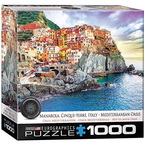EuroGraphics Cinque Terre Manarola Italy Puzzle (1000 Pieces)
