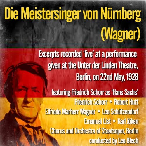 Friedrich Schorr as 'Hans Sachs'