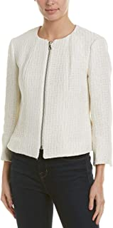 Anne Klein Womens Jacket White Size 10
