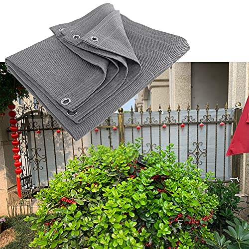 MAHFEI Malla Sombra De Red, Fácil De Instalar Cerca De Jardín con Ojales Pantalla De Privacidad del Balcón Anti-envejecimiento Paño De Protección Solar para Plantas De Jardín Toldos De Terraza