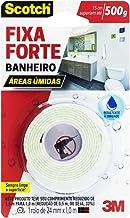Fita Dupla Face 3M Scotch Fixa Forte Banheiro - 24 mm x 1 m