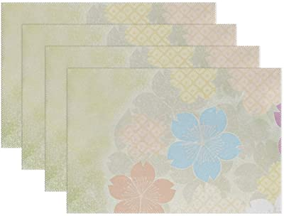 Faith Love Family Reversible Vinyl Placemat in Sets of 2 6 4 or 8