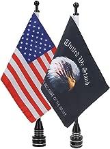 E-most Adjustable 6'x 9'American Flag + Flagpole Mount & 6