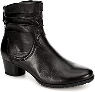 Womens Theodora Side Zip Slouch Ankle Boot Shoes