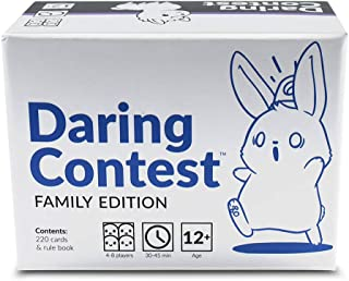 Daring Contest - Family Game Edition - From the Creators of Unstable Unicorns - A Funny Card Game & Party Game For Adults & Kids