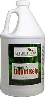 Seaweed Fertilizer - Omri Organic Liquid Fertilizer for Seedlings (1 Gallon) - Liquid Kelp & Vegetable Growth Concentrate ...