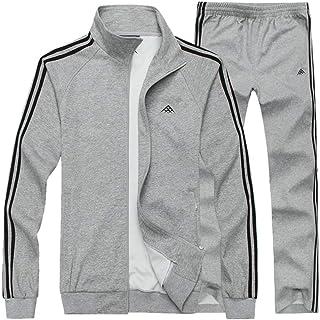 57fba367ead Manluo Men s Jogging Suits 2 Pieces Summer Sports Suit Tracksuit Sweatshirt