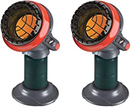Mr. Heater 3800 BTU Indoor Outdoor Portable Little Buddy Propane Heater (2 Pack)
