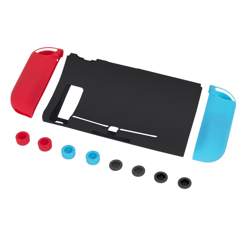 Funda de silicona para Nintendo Switch silicone Case para Consola ...