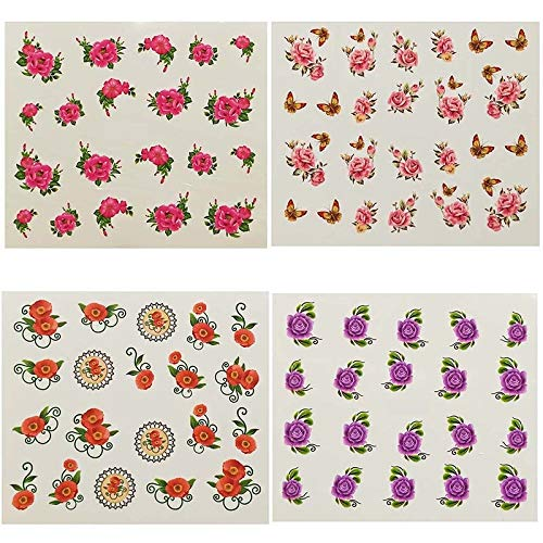 Watermark Cute rabbit Cartoon Stickers Nail Art Water Transfer Tips Decals Beauty Temporary Tattoos Tools E21