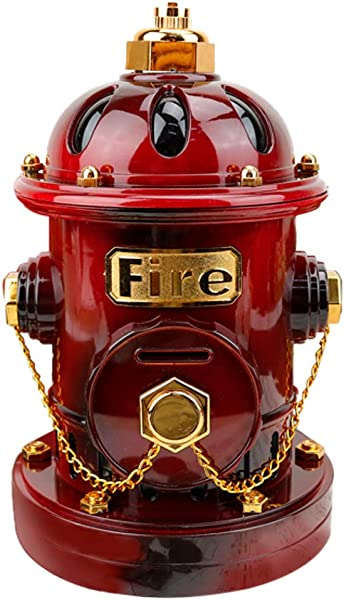 Chenway Piggy Bank Fire Hydrant Box Birthday Music Box Best Gift Table Decor Change Box For Boys And Girls Ship From USA Directly Wine
