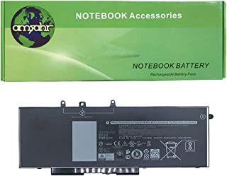 Amsahr DLGJKNX-02 - Batería de reemplazo para DELL GJKNX, Latitude E5480, 3520 15, 5480, Color Gris