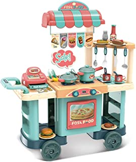 Amazon Com Kitchen Toys Toys Games Kitchen Playsets Play Food Cooking Baking Kits Real Food Appliances More