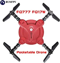Part & Accessories FQ777 FQ17W Mini WiFi FPV Foldable Pocketable Drone With High Hold Mode RC Quadcopter Red RTF