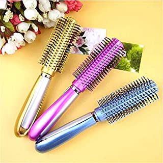 3 Pieces Professional Tangle Styling Knot Comb Detangler Hairbrush Magic Brush roller for Straight hair curls hair