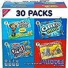 Nabisco Team Favorites Variety Pack, OREO Mini, CHIPS AHOY! Mini, Teddy Grahams Honey & Barnum's Animal Crackers, 30 Snack Packs