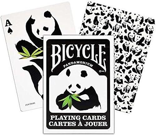 Fahrrad panda Spielkarten