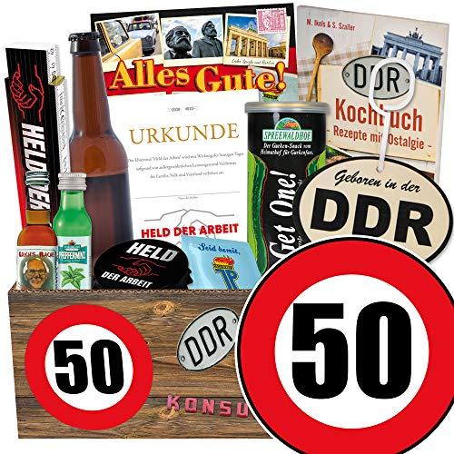 Männer Geschenkset / Geburtstagsgeschenk / Geburtstag 50 / Geschenk Box Vater
