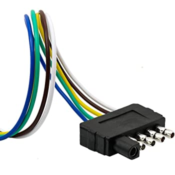 [DIAGRAM_0HG]  Amazon.com: TIROL 5-Way Flat Trailer Wire Harness Extension Connector Plug  with 36 inch Cable Length End Connector: Automotive | Round Wire Harness Plug Truck 5 |  | Amazon.com