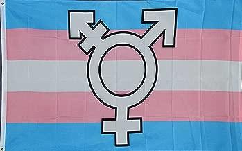 NEOPlex 3' x 5' Novelty Flag - Transgender Logo