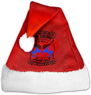 Christmas Hats Let's Just Go to New Zealand Santa Claus Hats Party Decoration for Adults and Children