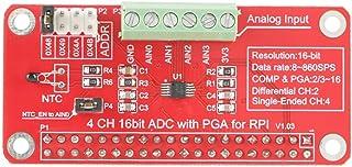 Akozon ADS1115 Módulo ADC de 16 bits Módulo convertidor analógico a digital Precison de 4 canales para Arduino Raspberry P...
