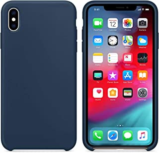 Matte Smooth, Soft flexible Cover, Soft Fur Lining (Microfiber) Style, TPU Case For Apple iPhone X/iPhone Xs/iPhone X Max/...