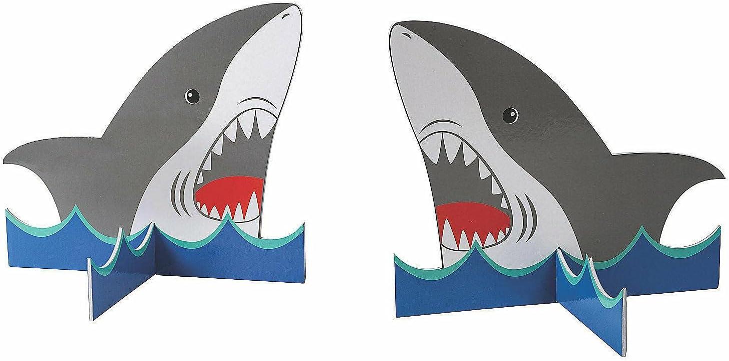 Shark Centerpieces - Party Decor Raleigh Mall Accent Desk Ta Minneapolis Mall Pieces 4
