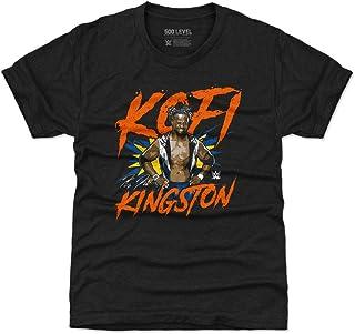500 LEVEL Kofi Kingston Kids Shirt - WWE Boys Clothes - Kofi Kingston Pose