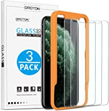 OMOTON [3Pack] ScreenProtectorfor Apple iPhone 11 Pro Max/ iPhone Xs Max- Tempered glass/ Alignment Frame/ Anti Scratch Screen Protector for iPhone 11Pro Max /iPhone Xs Max 6.5 inch