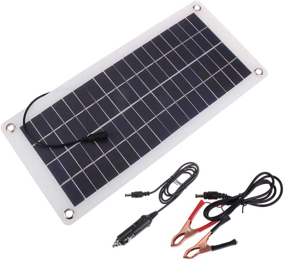 WHCL Solar Panel Kit 15W Charger Large discharge sale Battery K Portable New sales