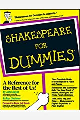 Shakespeare For Dummies Paperback