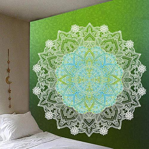 KnSam Tapiz de pared, diseño de flores, 95 x 73 cm