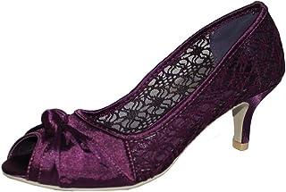 5a011905bd0 Amazon.co.uk: Kitten Heel - Court Shoes / Women's Shoes: Shoes & Bags