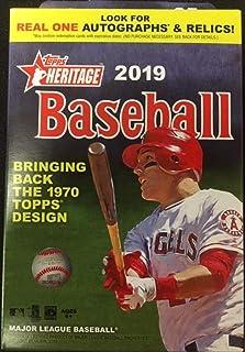 2019 Topps Heritage Baseball Hanger Box (35 Cards)