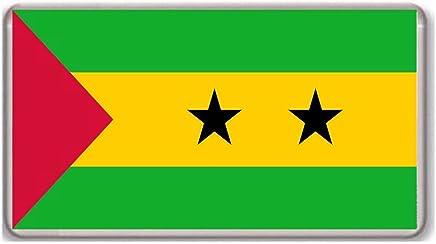 Flag of São Tomé and Príncipe/fridge/magnet..!!!!!
