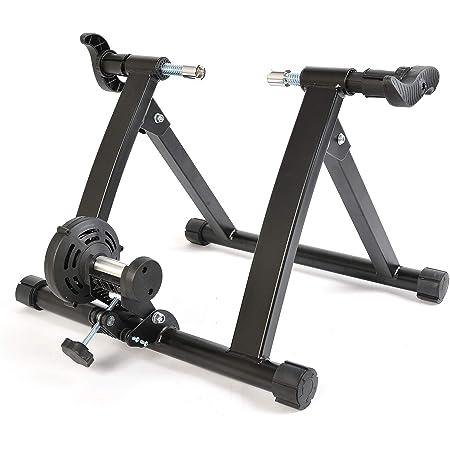 ROCKBROS Rodillo Magnético de Ciclismo para Entrenamiento Plegable para MTB Bici de Carretera 700C y Fixed Gear