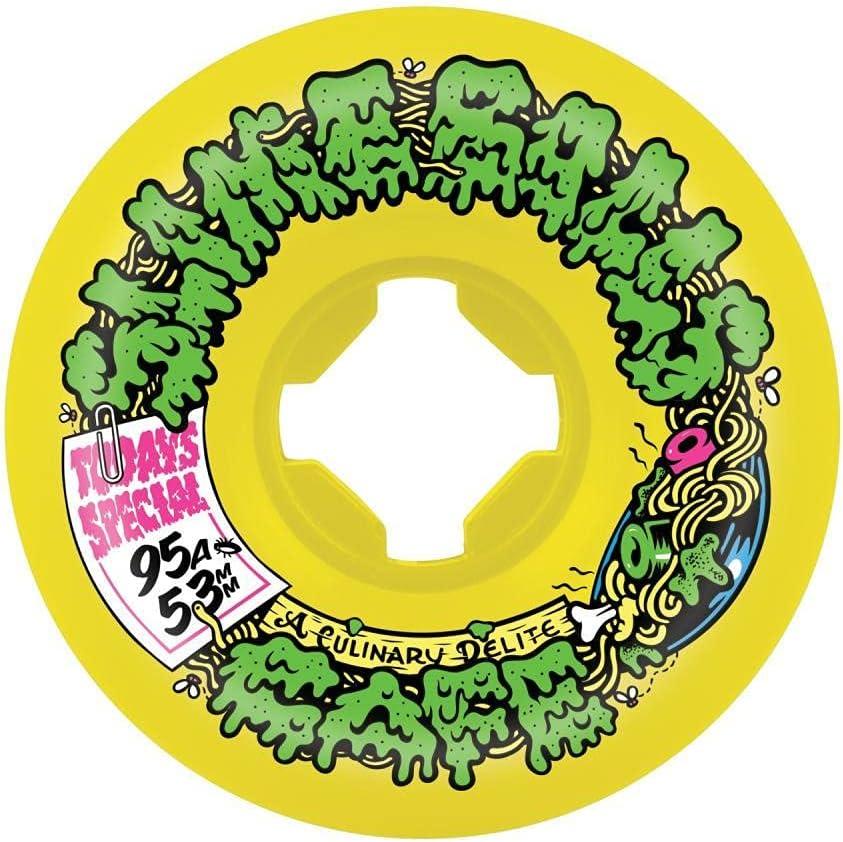 Slime Balls Double Take Cafe Mini Vomit YellowBlack 53mm 95a