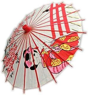キッズ?ジュニア 和傘 こども日傘 30~32cm 手開き傘