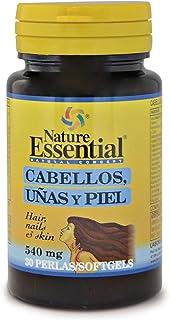 Cabellos uñas & piel 540 mg. 30 perlas con omega-3. L-cistina. hierro. zinc y vitaminas. Para fortalecer y frenar la caída