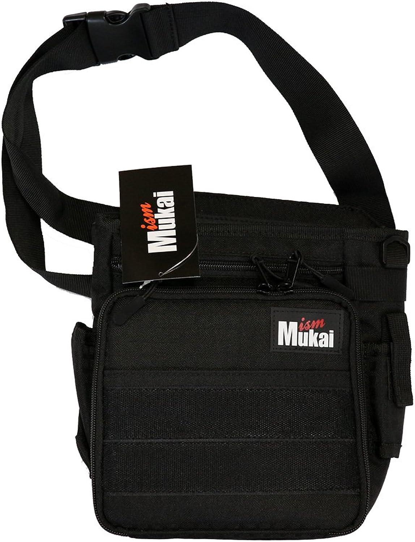 Mukai (Mukai) Mukai waist bag black.