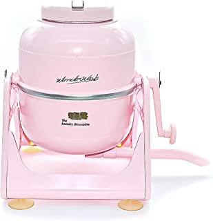 The Laundry Alternative Wonderwash Retro Colors Non-electric Portable Compact Mini Washing Machine