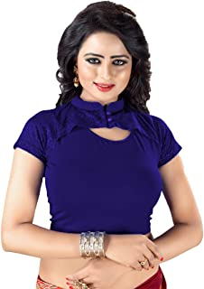 7b979cd4d3be40 GOGURL -You Deserve The Best Cotton Lycra Women's Free Size Readymade  Stretchable Blouse