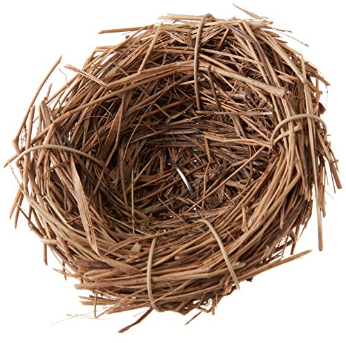 "Darice Package of 12 Natural 2-1/4"" Twig Birds Nests for Wedding Favors, Party Favors or Baby Showers"