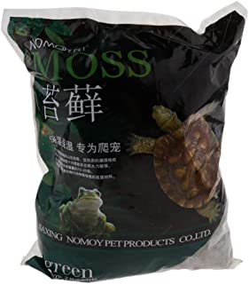 Flameer Dry Sphagnum Moss 500g/1000g Animals Reptile Bedding Forest Floor Bedding - 1000G