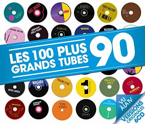 Les 100 Plus Grands Tubes 90 (6 CD)