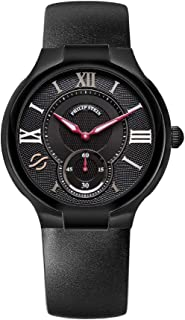 Philip Stein Black Watch with Rubber Band
