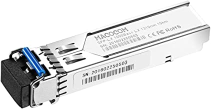 Macocom for Arista SFP-1G-LX SFP 1000BASE-LX Transceiver Single-mode Mini-GBIC 1310nm 10km with DOM Network Optic Module